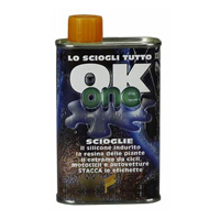 OK ONE Sciogli silicone, colle, resina, etc